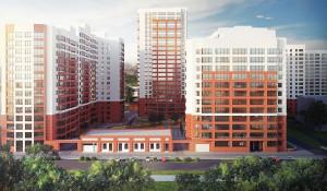 """Проект первой очереди жилого комплекса """"Две эпохи""""."""