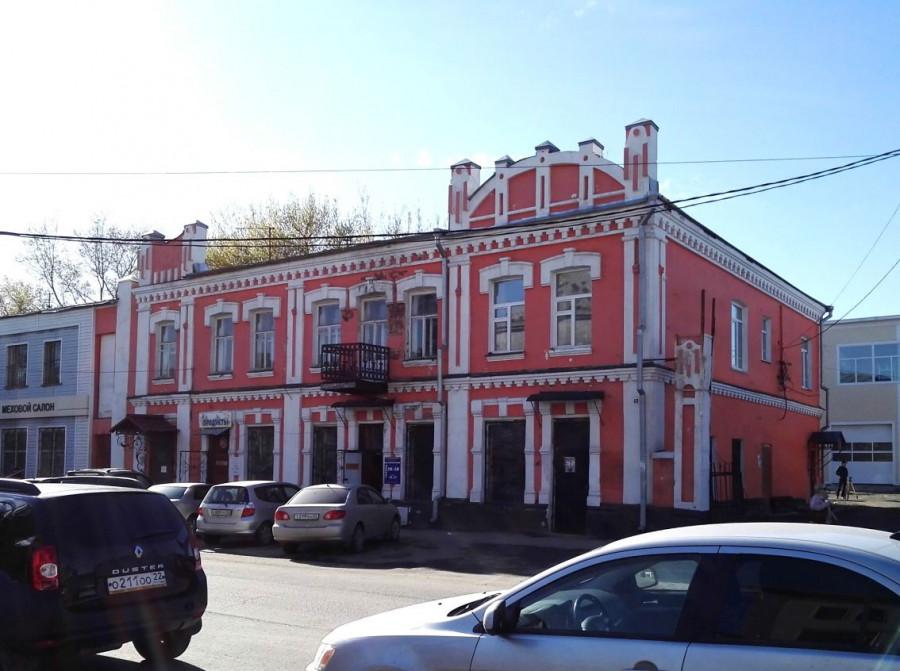 Проект реставрации здания на Пушкина, 48.