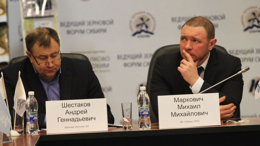 Михаил Маркович (справа).