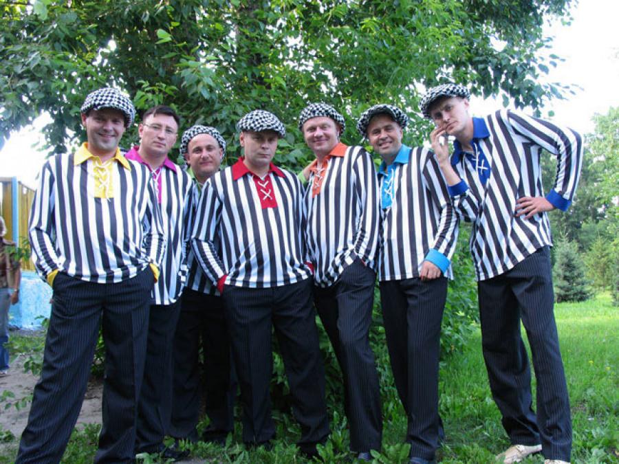 Команда КВН «Дети лейтенанта Шмидта», чемпионы высшей лиги КВН 1998 г.