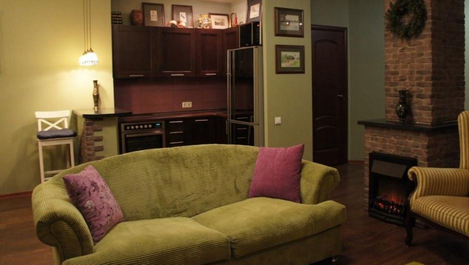 Квартира в английском стиле.