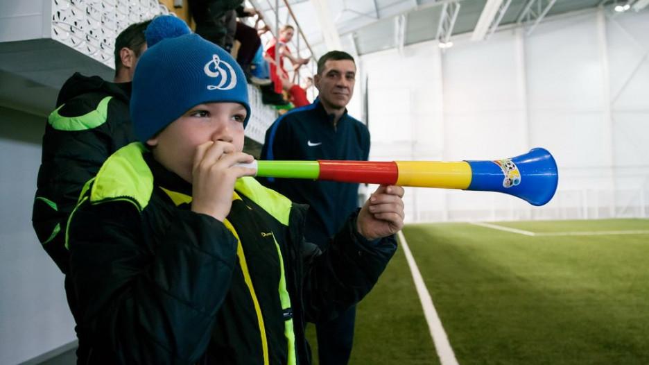 """Официальное открытие футбольного манежа """"Темп"""" в Барнауле"""