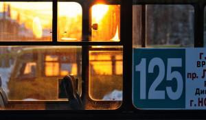 Общественный транспорт. Автобус.