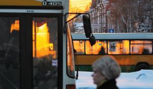 Общественный транспорт. Автобусы.