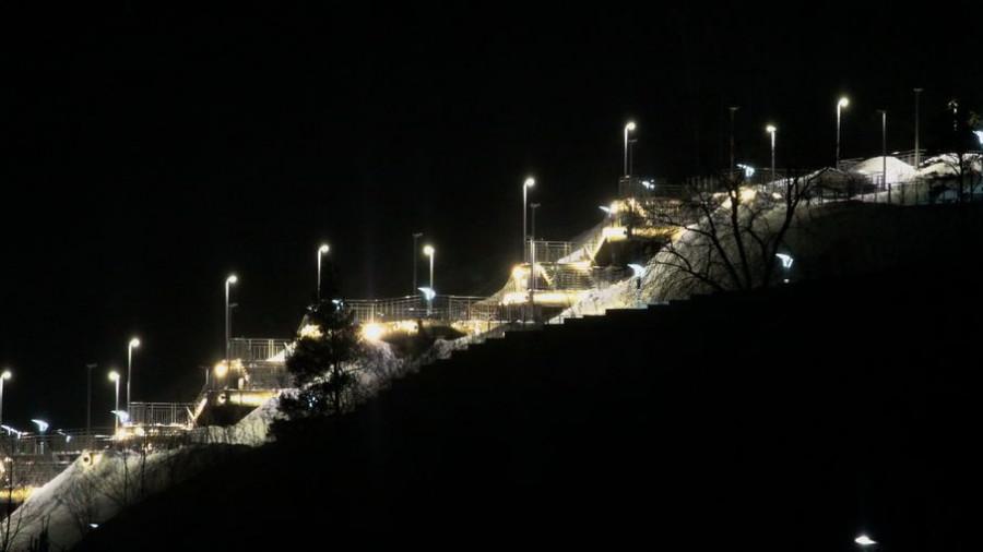 Лестница в Нагорный парк. Туристический кластер.