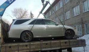 Арестованный автомобиль.