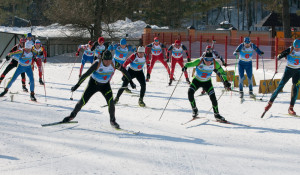 Чемпионат России по биатлону среди ветеранов.