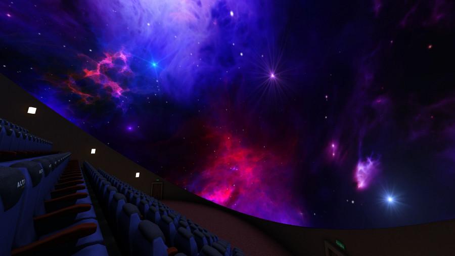 Виртуальный сферический кинотеатр.