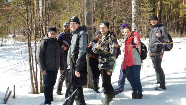 Пешие прогулки в Барнауле.