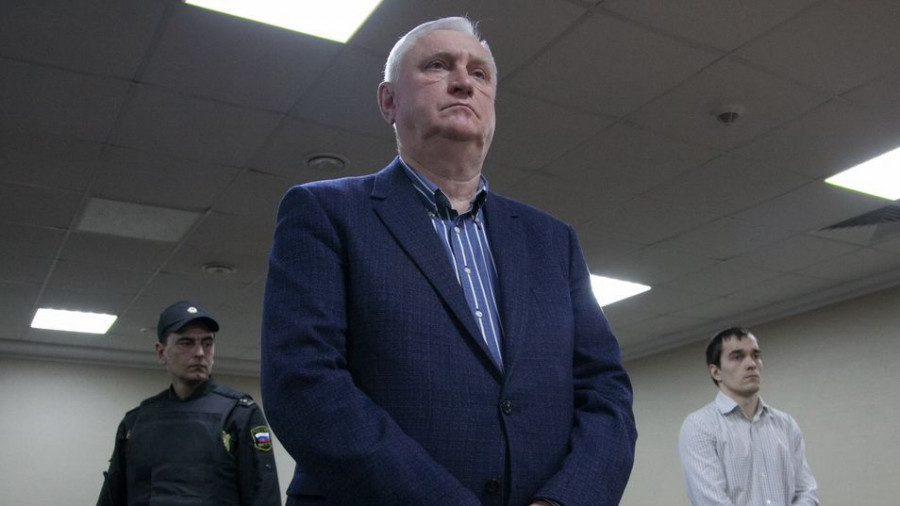 Игорь Савинцев во время оглашения приговора.