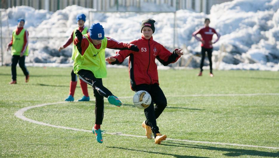 На Алтае начали воспитывать футбольные таланты по немецкой технологии.