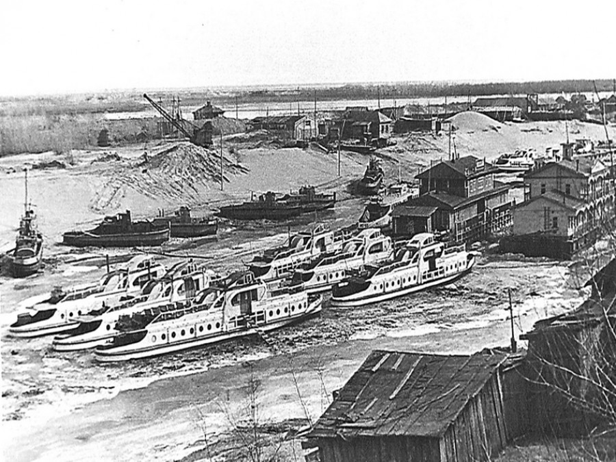 """Район барнаульского """"Ковша"""" (1967 г.)."""