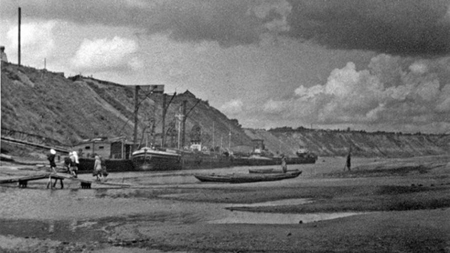 """Район барнаульского """"Ковша"""" (1950 г.)."""