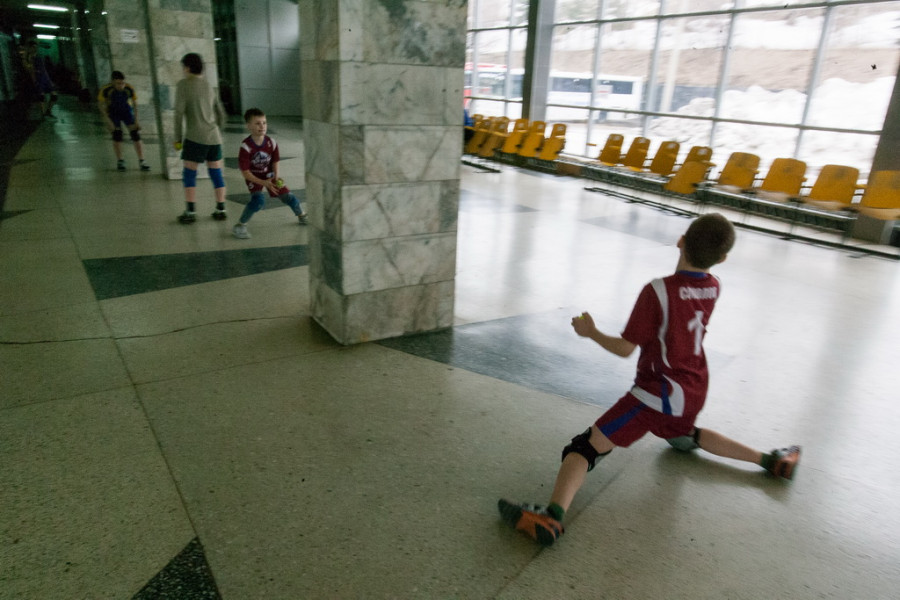 Дворец зрелищ и спорта в Барнауле