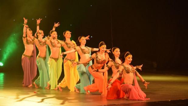 """Выступление балета """"Тодес"""" в Барнауле."""