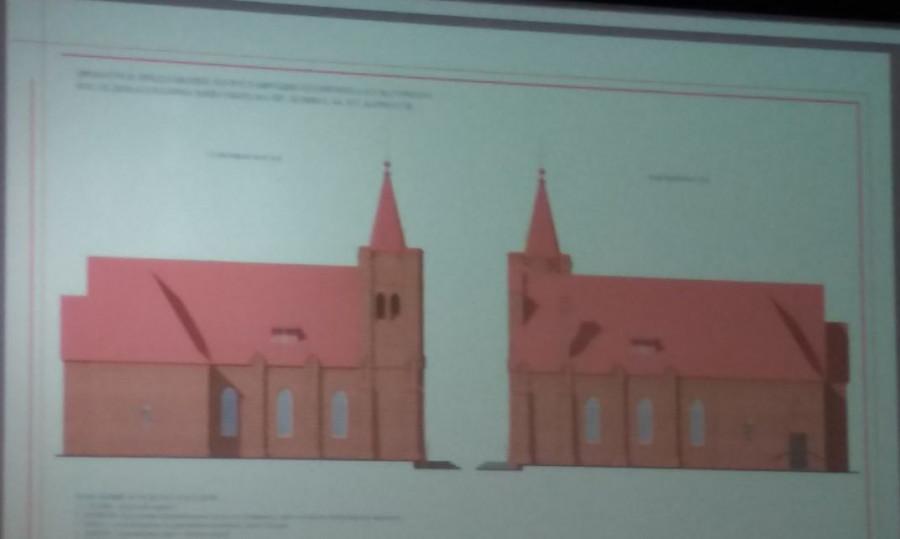 Проект католической церкви на проспекте Ленина