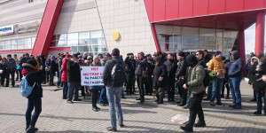 В Барнауле прошел митинг в поддержку задержанных на митингах.