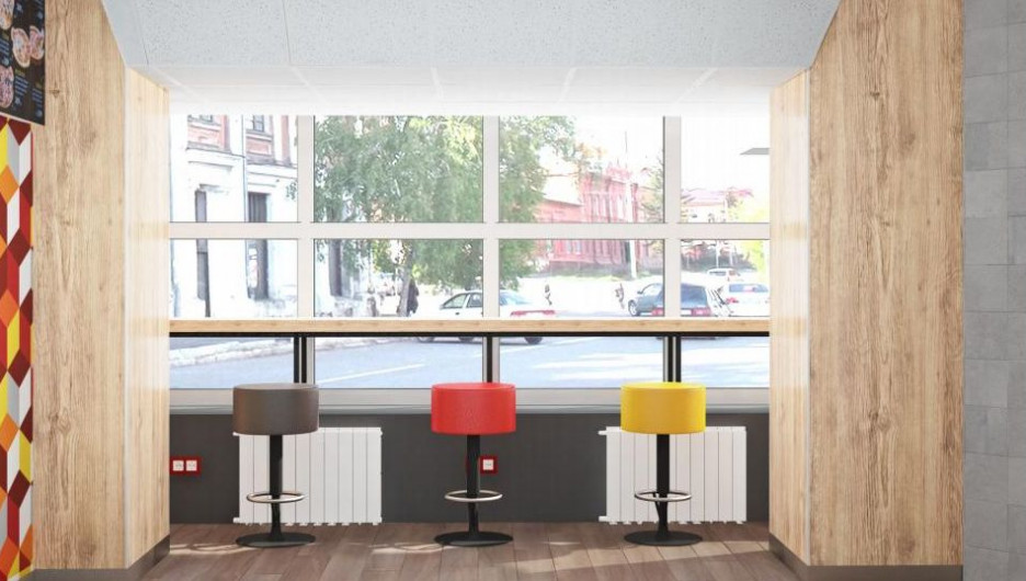 Дизайн-проект заведения в Бийске.
