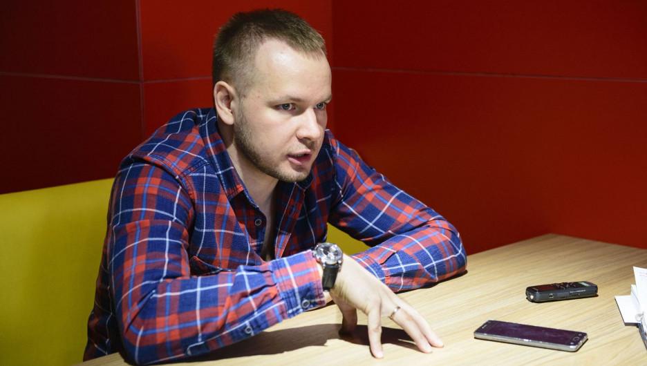 """Директор по развитию сети """"Грильница"""" Максим Тушков."""