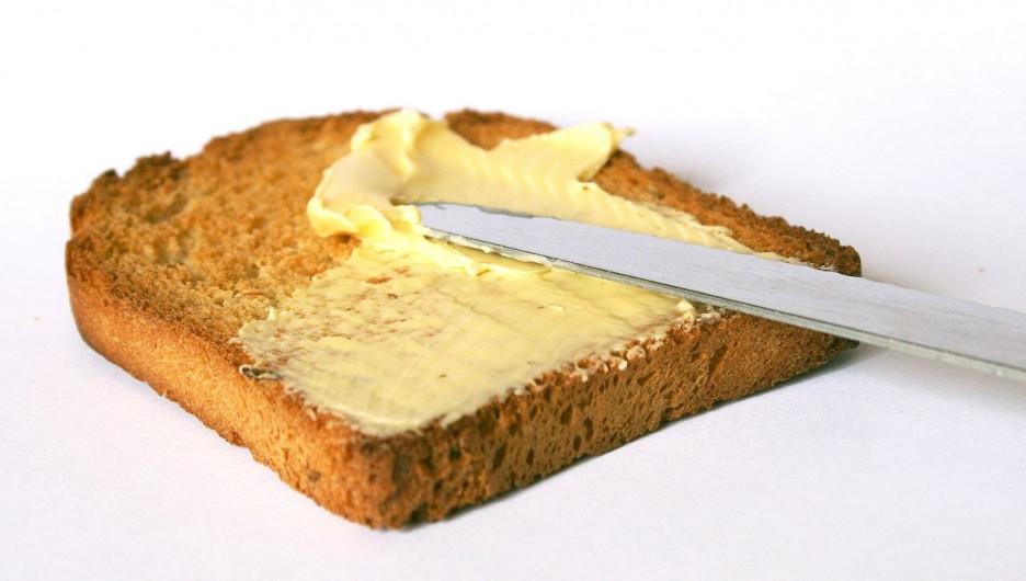 Масло сливочное.