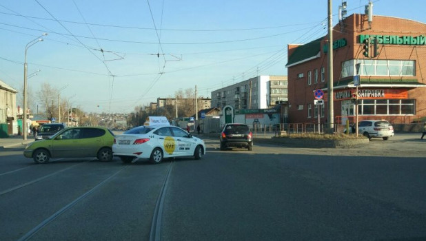 """Яндекс.Такси"" в Барнауле."