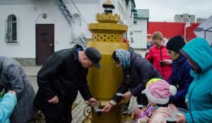 В Барнауле появился 90-литровый самовар