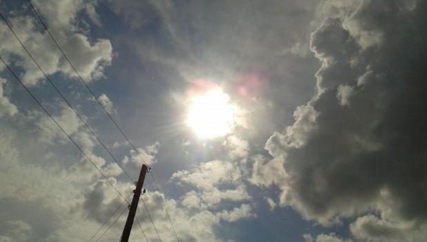 Солнце, лето, тепло.