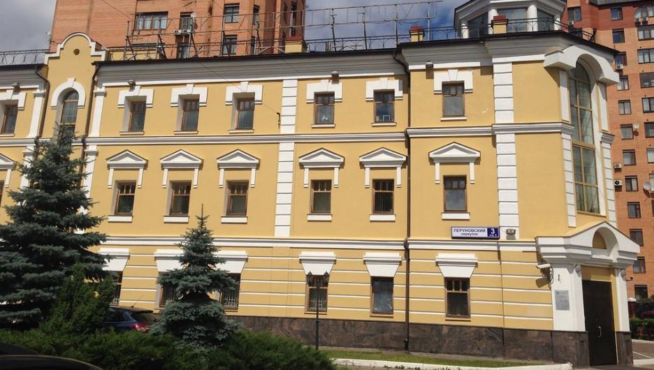 """Отделение банка """"Сибэс"""" в Москве."""