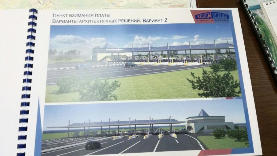 Часть проекта обхода Барнаула