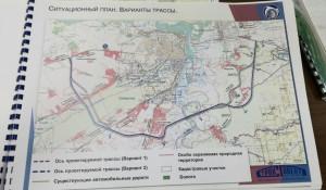 Предварительная схема обхода Барнаула