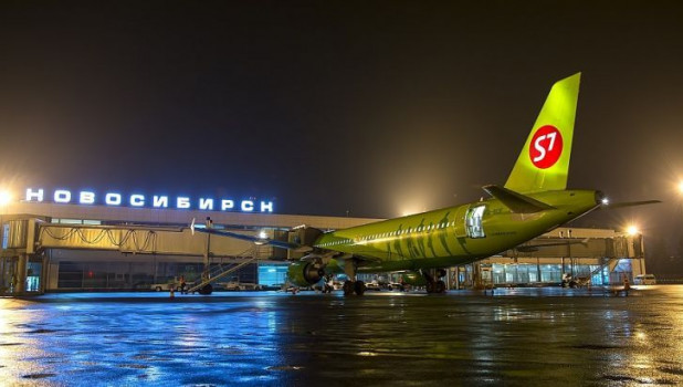 Самолет авиакомпании S7 Airlines.