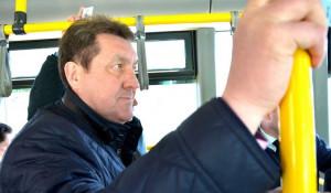 Сергей Дугин проехал на общественном транспорте