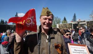 День Победы в Барнауле. 9 мая 2017 года.