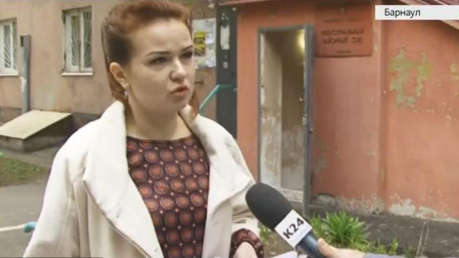 Оксана Ткаченко перед приговором.