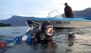 Барнаульские дайверы провели экологический рейд на Телецком озере.