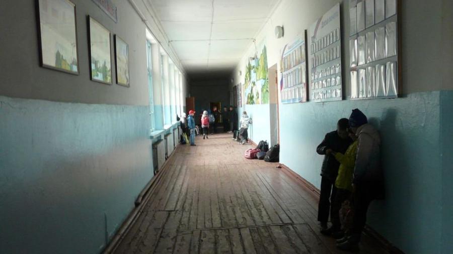 Школа в селе Боровиха