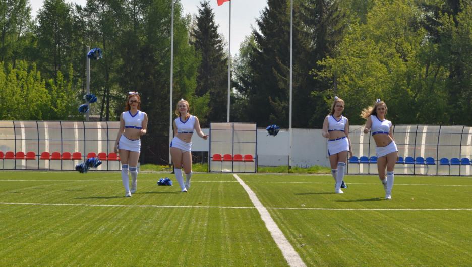 Праздник спорта в парке им. Алексея Смертина. 20 мая 2017 года.