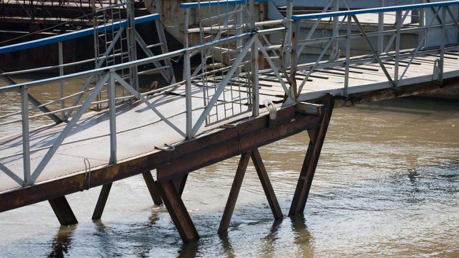 23 мая Обь у Барнауле превысила критический уровень. Паводок на Алтае-2017.