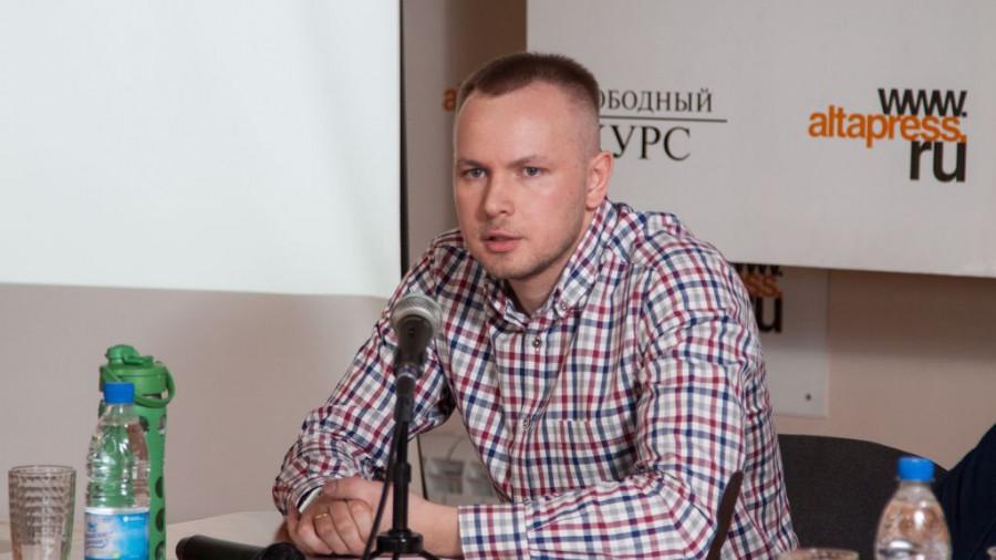 """Директор по развитию """"Грильницы"""" во время """"Школы успеха""""."""