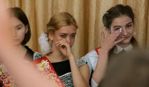 """""""Последний звонок"""" в гимназии № 45. Барнаул, 25 мая 2017 года."""