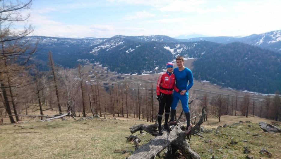Прогулка в алтайских горах.