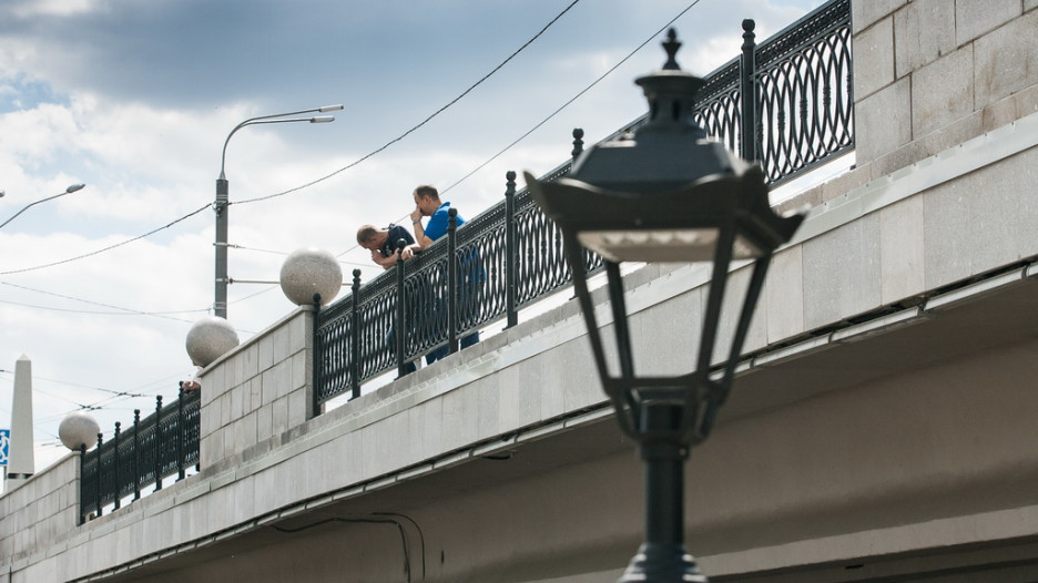 Каким стал мост через Барнаулку. Май 2017 года.
