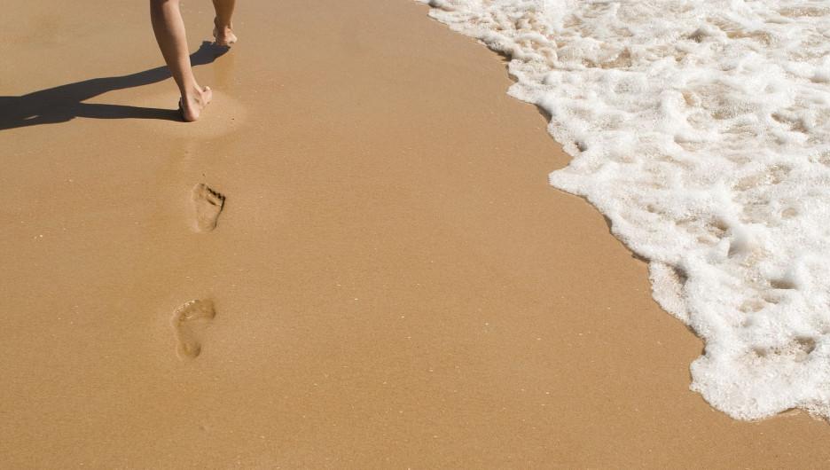 Пляжный сезон. Лето. Песок.