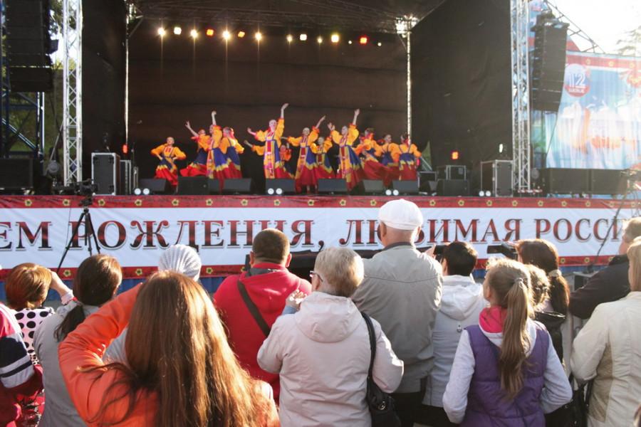 День России в Барнауле. Площадь Сахарова, 12 июня 2017 года.