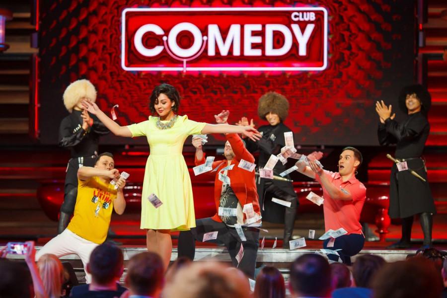 Резидент Comedy Club Марина Кравец.
