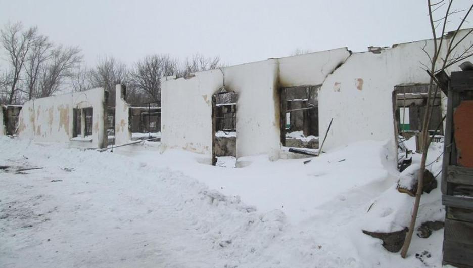 Развалины в Ивановке.
