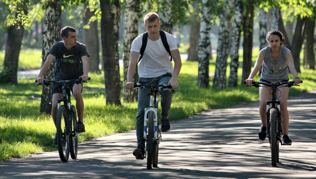 Жара в Барнауле