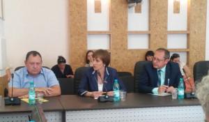 Юрий Кудинов, Татьяна Ильюченко и Александр Студеникин.