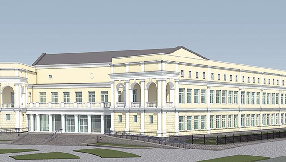 Проект художественного музея Алтайского края
