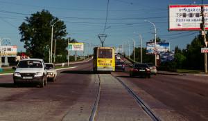 Трамвай в Бийске